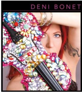 Deni Bonet - NY Violin Rocker! @ Hot Spot Music Club