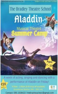 Aladdin Musical Theatre Summer Camp @ Whale Theatre