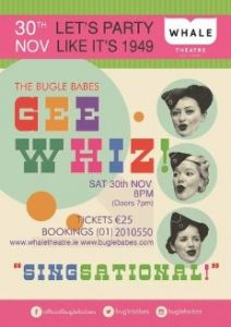The Bugle Babes: Gee Whiz! @ The Whale Theatre