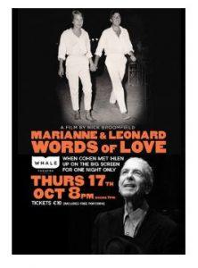 Greystones Film Club: Marianne & Leonard: Words Of Love @ Whale Theatre