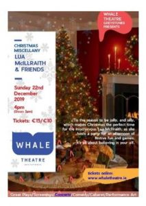 Christmas Miscellany with Lua McIlraith & Friends @ Whale Theatre