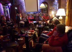 Pat's Fireside Folk Session @ Hot Spot Music Venue