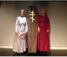"ONE ACT FESTIVAL PREVIEWS - ""Red Cross"" & ""Two Sisters"" @ Whale Theatre"