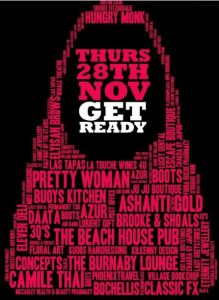 Ladies Night Greystones - Thurs 28th November @ All over Greystones