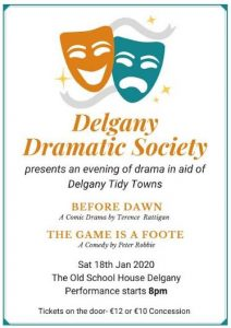 An evening of Drama by Delgany Dramatic Society @ The Old School House