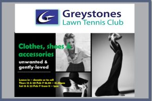 Ladies - New to you Pop Up shop @ Tennis Club